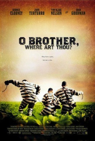 O Brother, Where Art Thou? - Theatrical release poster