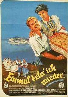 <i>Once I Will Return</i> 1953 film