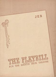 <i>Jeb</i> (play) play written by Robert Ardrey