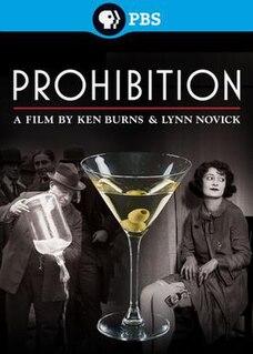 <i>Prohibition</i> (miniseries) 2011 documentary film directed by Ken Burns