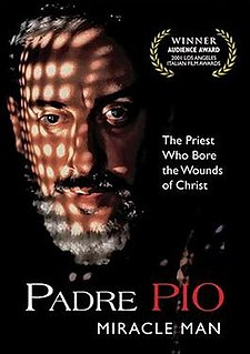 <i>Padre Pio: Miracle Man</i> 2000 Italian television miniseries directed by Carlo Carlei