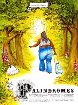 Palindromes (film) - Theatrical release poster