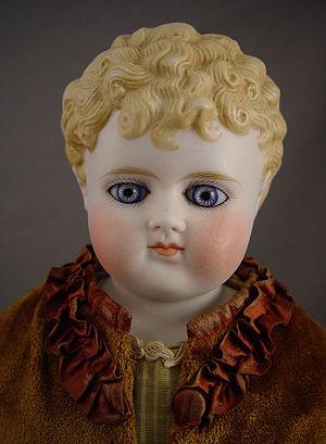 German Alt Beck & Gottschalck parian doll with...