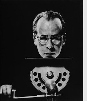 Philippe Halsman - Philippe Halsman self-portrait.