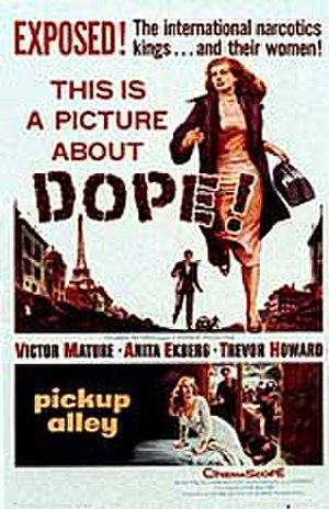 Interpol (1957 film) - Original US film poster
