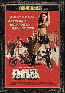 <i>Planet Terror</i> 2007 film by Robert Rodriguez