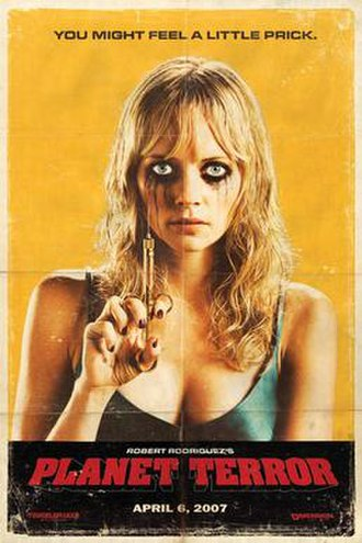 Planet Terror - One of the theatrical commercial posters
