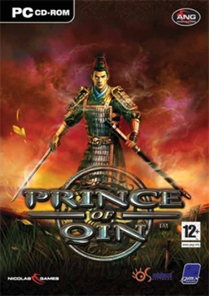 Prince of Qin (video game) - Image: Prince of Qin Coverart