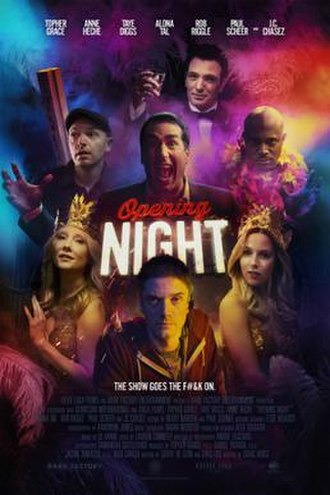 Opening Night (2016 film) - Image: Promotional Poster for Opening Night (2016) movie