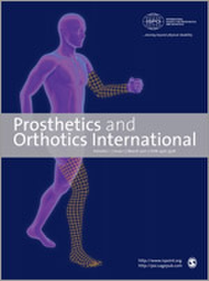 Prosthetics and Orthotics International - Image: Prosthetics and Orthotics International