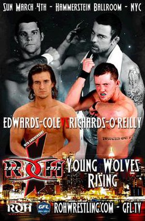 10th Anniversary Show: Young Wolves Rising - Image: ROH 10th Anniversary Show