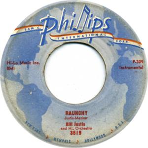Raunchy (instrumental) - Image: Raunchy Bill Justis