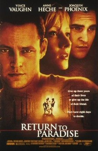 Return to Paradise (1998 film) - Theatrical release poster