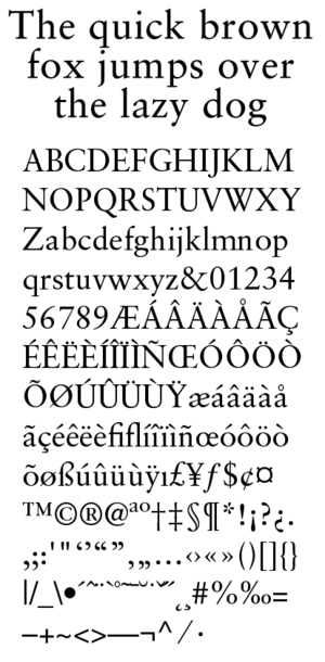 Jan Tschichold - Sabon typeface designed by Tschichold, and released in 1967. One of its earliest uses was by Bradbury Thompson in setting the Washburn College Bible.