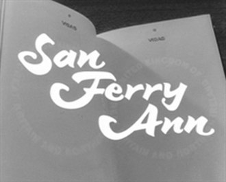 San Ferry Ann - Opening title card