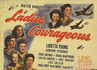 Ladies Courageous - Theatrical poster