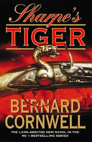 Sharpe's Tiger - First edition cover