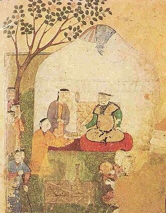 Shaybanids - The trellis-walled yurt of Muhammad Shaybani Khan.
