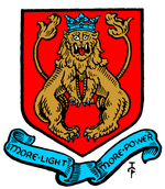 Arms of the Metropolitan Borough of Shoreditch