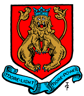 Metropolitan Borough of Shoreditch - Arms of the Metropolitan Borough of Shoreditch