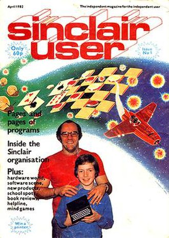 Sinclair User - The debut issue, representative of the magazine's early style which was more hobbyist and less games-oriented than in later years.