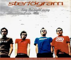Steriogram - Steriogram on the cover of their 5 track EP Sing the Night Away.