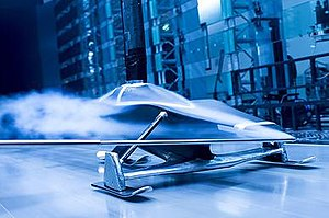 Snowspeed - Snowspeed prototype III in testing at Toyota Motorsport GmbH in Cologne, Germany