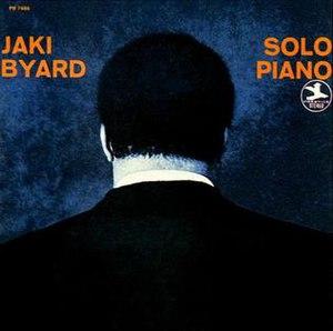 Solo Piano (Jaki Byard album) - Image: Solo Piano (Jaki Byard album)
