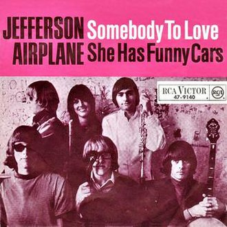 Somebody to Love (Jefferson Airplane song) - Image: Somebody to Love Jefferson Airplane