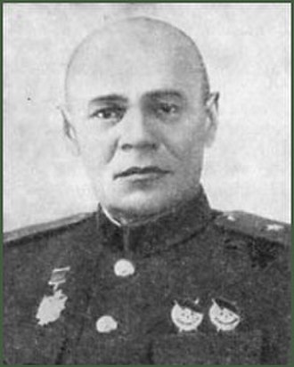 330th Rifle Division (Soviet Union) - Wartime photo of Maj. Gen. G. D. Sokolov