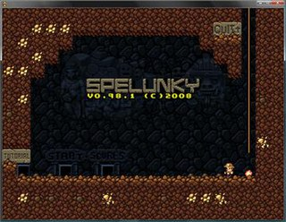 <i>Spelunky</i> 2009 video game