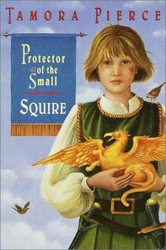 Squire (novel) - Original Random House U.S. hardcover of the book featuring the title character.