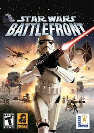 Star Wars: Battlefront (2004 video game) - Image: Star wars battlefront cover art