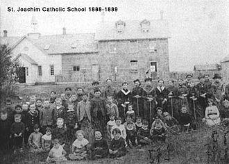 Edmonton Catholic School District - First Catholic School in Edmonton