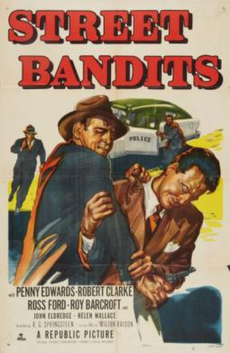 Street Bandits - Theatrical release poster