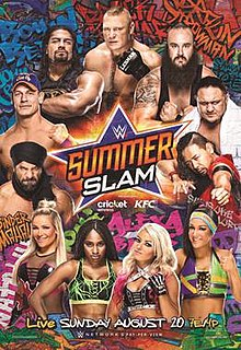 Summerslam 2017 Wikipedia
