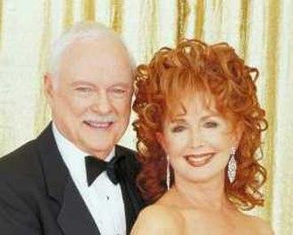 Mickey Horton - John Clarke as Mickey Horton, with wife, Maggie Horton.