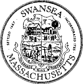 Official seal of Swansea, Massachusetts