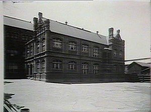 Sydney Boys High School - Second campus of Sydney Boys High School, at Mary Ann Street in Ultimo, in 1927.