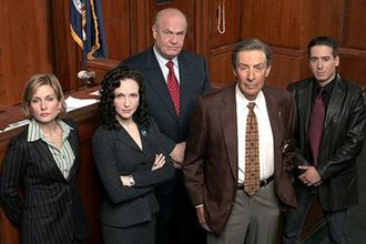 Law & Order: Trial by Jury - Image: TBJ Cast
