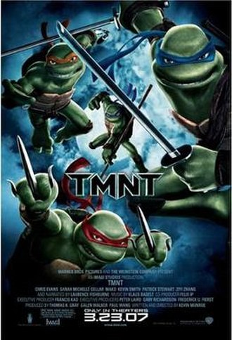 TMNT (film) - Theatrical release poster