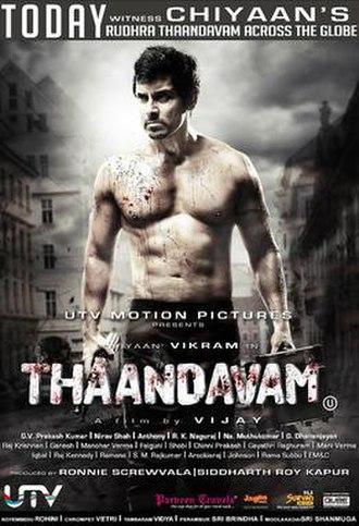Thaandavam - Release poster