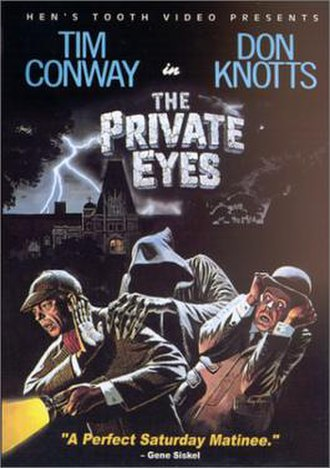 The Private Eyes (1980 film) - DVD cover