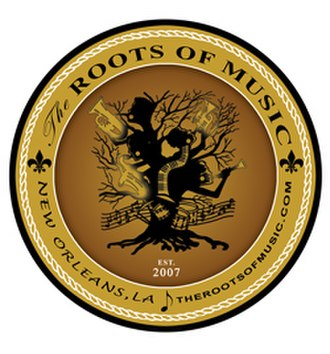 The Roots of Music - Image: The Rootsof Music New Orleans logo