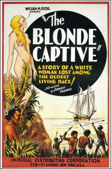 The Blonde Captive movie