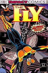 The Fly 1, Impact Comics, August 1991 by Mike Parobeck and Paul Fricke.jpg