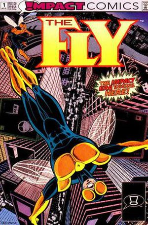 Fly (Impact Comics) - Image: The Fly 1, Impact Comics, August 1991 by Mike Parobeck and Paul Fricke