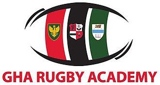 Glasgow Hutchesons Aloysians RFC - The GHA Rugby Academy Logo