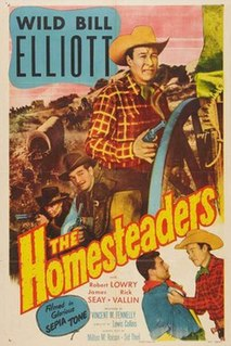 <i>The Homesteaders</i> 1953 film by Lewis D. Collins