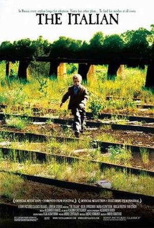 The Italian (2005 film) - English-language poster
